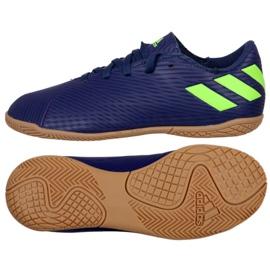 Adidas Nemeziz Messi 19.4 I Jr EF1817 fodboldsko navy