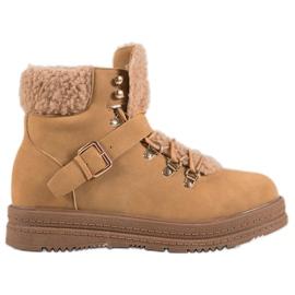 Stilfulde VICES-støvler brun
