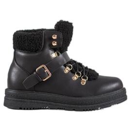 Stilfulde VICES-støvler sort