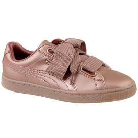 Puma Basket Heart Copper W 365463-01 sko pink