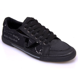 Materiale Sneakers A961 Sort
