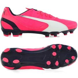 Puma Evo Speed 3.3 Fg M 103014 03 fodboldsko pink pink