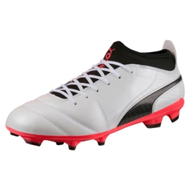 Puma One 17.3 Fg M 104074 01 fodboldsko sort hvid