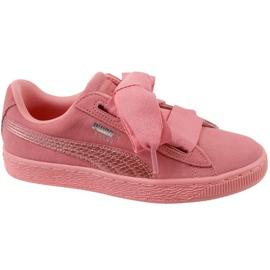 Puma ruskind Heart Snk Jr 364918-05 sko pink