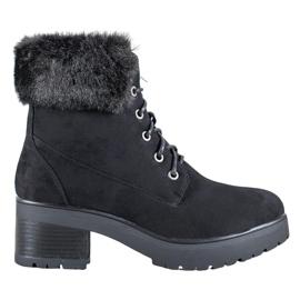 Goodin Sorte støvler med pels