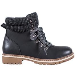 Goodin Sneakers med dekorativ snøring sort