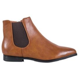 Marquiz Kamel-ankelstøvler brun