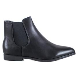 Marquiz Sorte støvler i Spitz