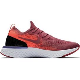 Nike Epic React Flyknit W AQ0070 601 løbesko rød