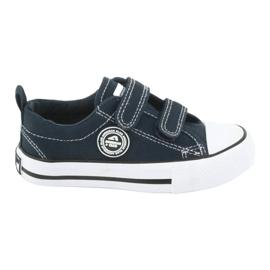 Navy American Velcro Sneakers American Club LH35