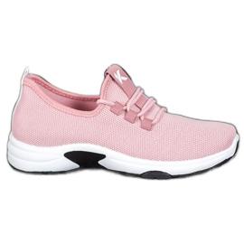 Kylie Klassiske sportssko pink