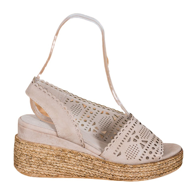 Goodin Openwork Wedge Sandaler