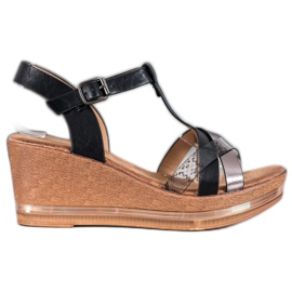 Evento Elegante kile sandaler sort