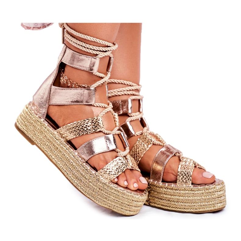 SEA Espadrilles Guld Eromica Kvinder sandaler