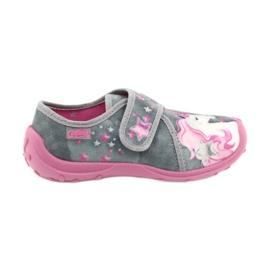 Befado børnesko 560X117 pink grå