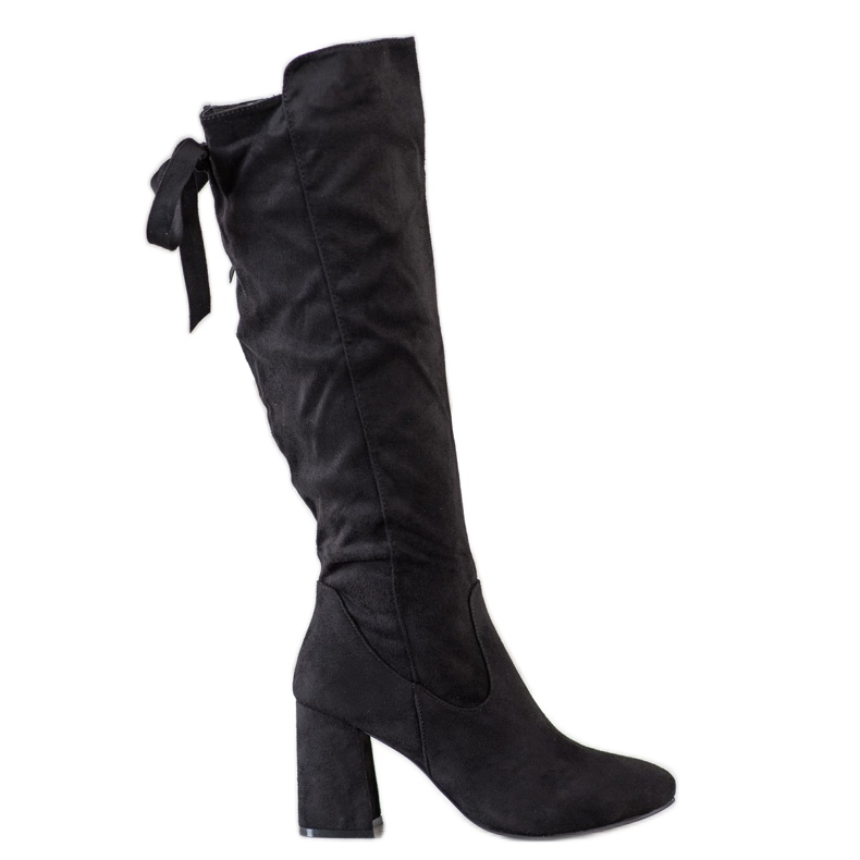 Flyfor Stilfulde støvler på posten sort
