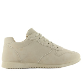 NB135p Beige sneakers brun 1