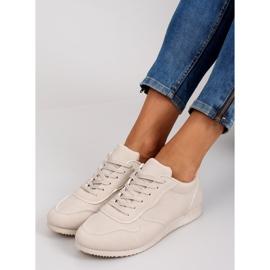 NB135p Beige sneakers brun 2