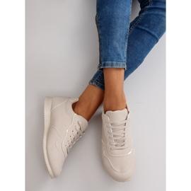 NB135p Beige sneakers brun 4