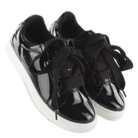 Hvide sneakers zy-7a733 sort 1
