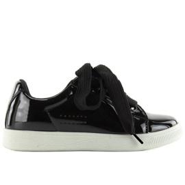 Hvide sneakers zy-7a733 sort 2