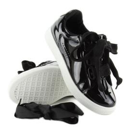 Hvide sneakers zy-7a733 sort 3