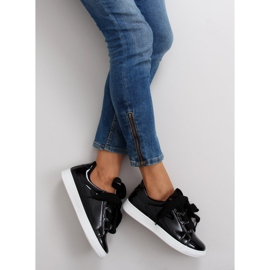 Hvide sneakers zy-7a733 sort 4