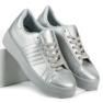 Sølv sneakers grå 4