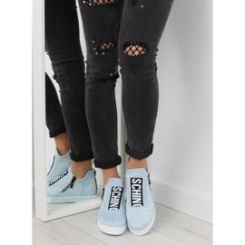 Blå NB168 platform sneakers. Blå 6