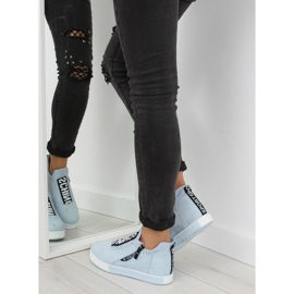 Blå NB168 platform sneakers. Blå 1