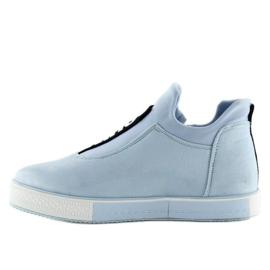 Blå NB168 platform sneakers. Blå 4