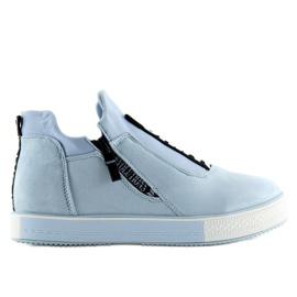 Blå NB168 platform sneakers. Blå 5
