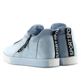 Blå NB168 platform sneakers. Blå 7