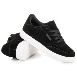 Sneakers på platformen sort 4