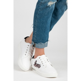 Vices Lace-up Love Sneakers 2
