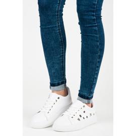 Hvide sneakers stjerner 1
