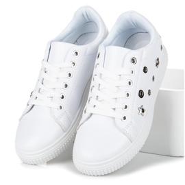 Hvide sneakers stjerner 5