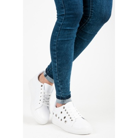 Hvide sneakers stjerner 2