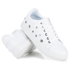 Hvide sneakers stjerner 4