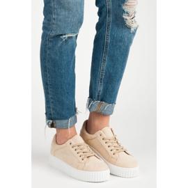 Seastar Suede Sneakers På Platformen brun 1