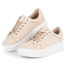 Seastar Suede Sneakers På Platformen brun 5