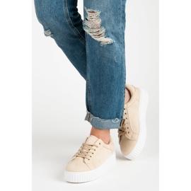 Seastar Suede Sneakers På Platformen brun 2