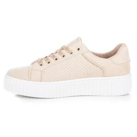 Seastar Suede Sneakers På Platformen brun 3