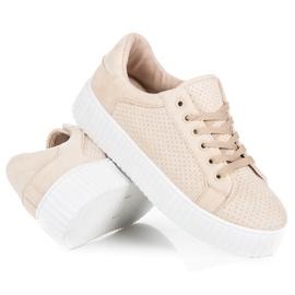 Seastar Suede Sneakers På Platformen brun 4