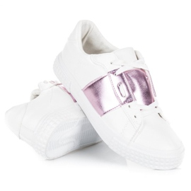 Hvid Fashion Sneakers 4
