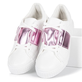 Hvid Fashion Sneakers 5
