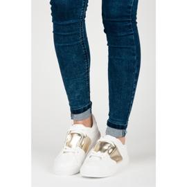 Hvid sport sneakers mode 1