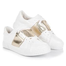 Hvid sport sneakers mode 3