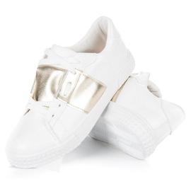 Hvid sport sneakers mode 4