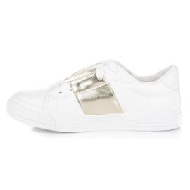 Hvid sport sneakers mode 5